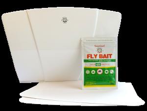 Sentinel Fly Trap Bait Glue Boards